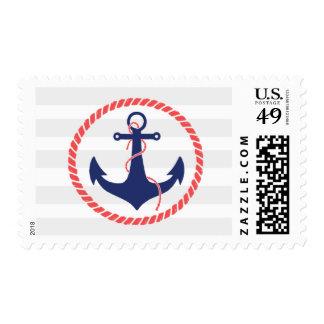 Nautical Anchor Postage