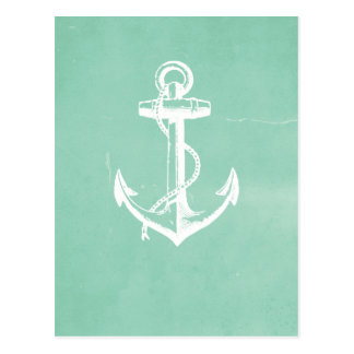 Nautical Anchor Postcard