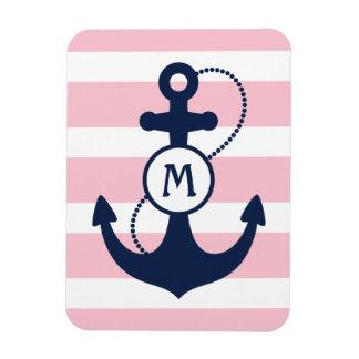 Nautical Anchor Rectangular Photo Magnet