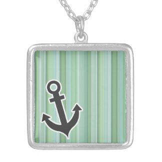 Nautical Anchor Seafoam, Sage Green, & Baby Blue Jewelry