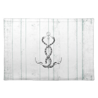 Nautical Anchor snakes Placemat