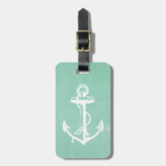 Nautical Anchor Tag For Luggage