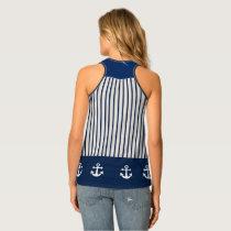 nautical anchor tank top