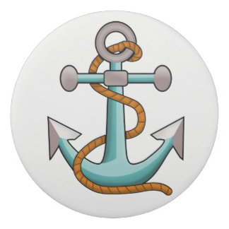 Nautical Anchor with Rope Eraser