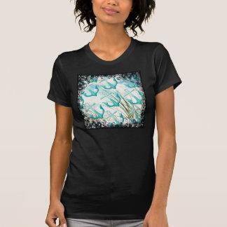 Nautical Anchors Beach Ocean Seaside Coastal Theme T-Shirt