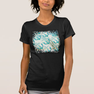 Nautical Anchors Beach Ocean Seaside Coastal Theme Tee Shirts