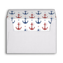 Nautical Anchors Envelope