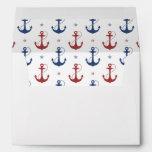 Nautical Anchors Envelopes
