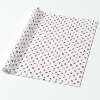 Nautical Anchors Gift Wrapping Paper