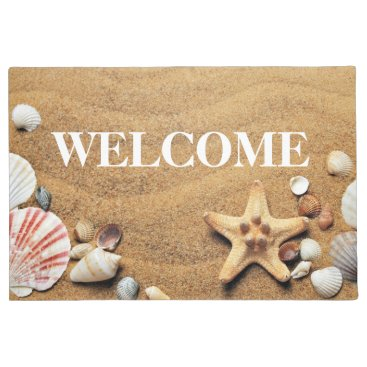 Beach Themed Nautical and Coastal Life is Better on the beach Doormat