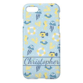 Nautical Aquatic iPhone 8/7 Case