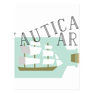 Nautical Art Postcard