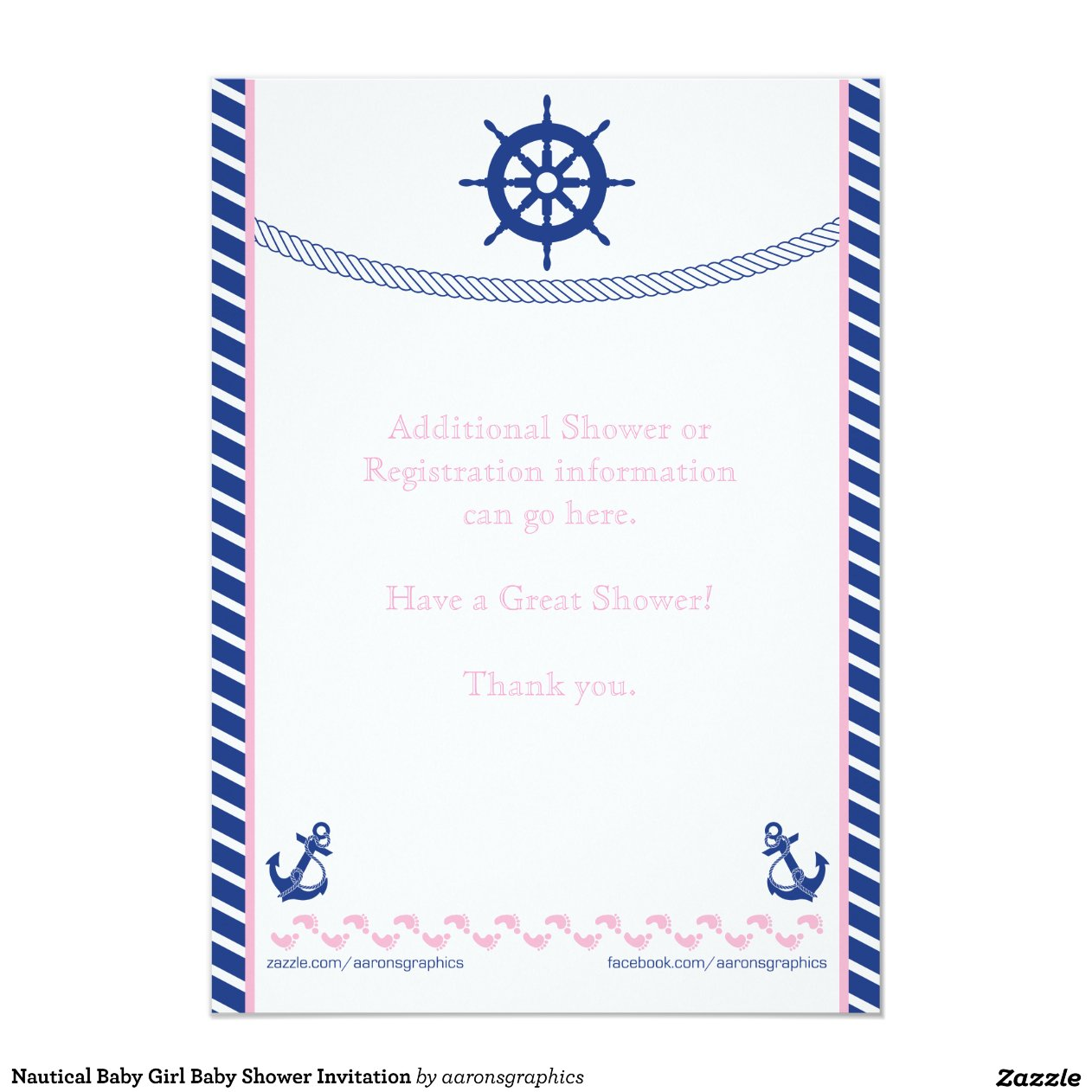 Gallery For Gt Nautical Theme Baby Shower Girl Pink And Blue