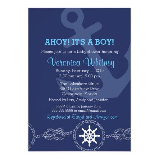 ahoy invitations
