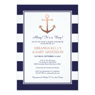 Nautical baby shower invitations zazzle nautical baby shower invitation nautical invite filmwisefo
