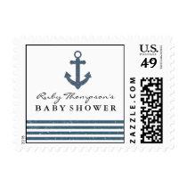 Nautical Baby Shower Postage Stamp