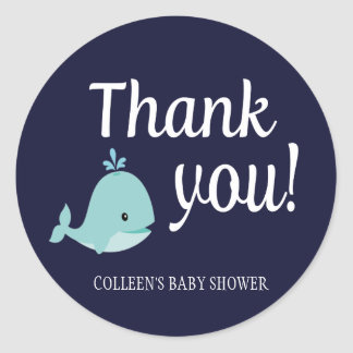 Nautical Baby Shower Thank You Stickers