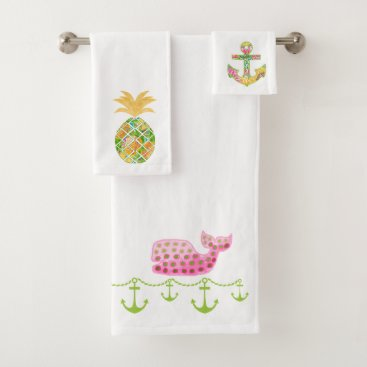 Nautical Beach Christmas Towel Ser