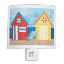 Nautical Beach Huts Night light