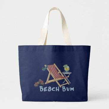 Beach Themed NAUTICAL/BEACH JUMBO Tote