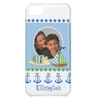 Nautical Beach Sail Boat Toys Typography Style iPhone 5C Cover