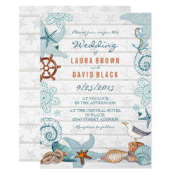 Nautical Beach | Wedding Invitation