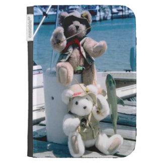 Nautical bears kindle case