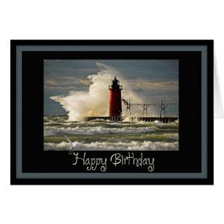 Nautical Birthday Card