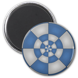 Nautical Blue Abstract Magnet