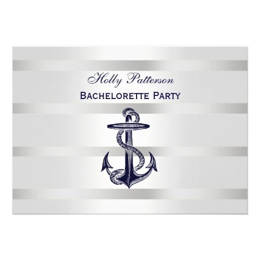 Bachelorette Invitation with great invitation design