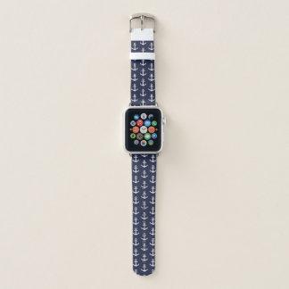 Nautical Blue Apple Watch Band