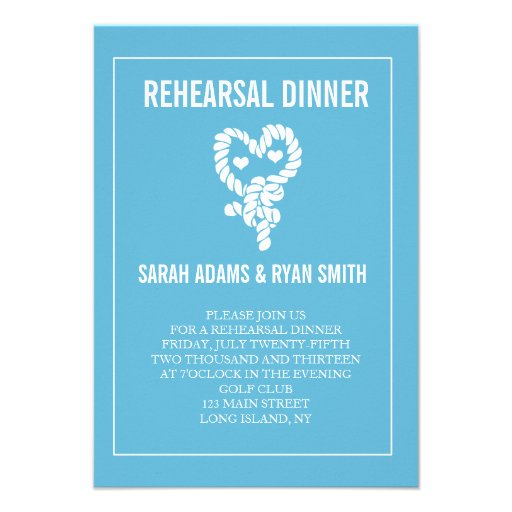 Nautical Rehearsal Dinner Invitations for your inspiration to make invitation template look beautiful