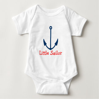 Nautical boat anchor baby creeper | Little sailor