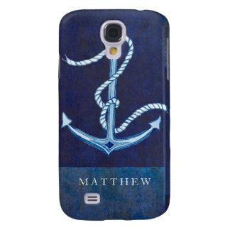 Nautical Boat Anchor, Sailing Ocean Sea Mens Galaxy S4 Case
