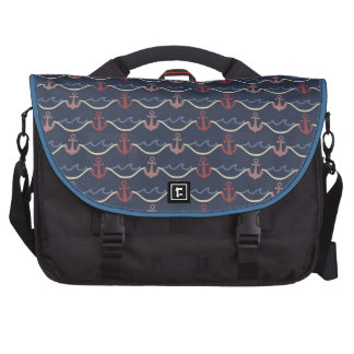 nautical boating sailing anchors matey pirate commuter bags