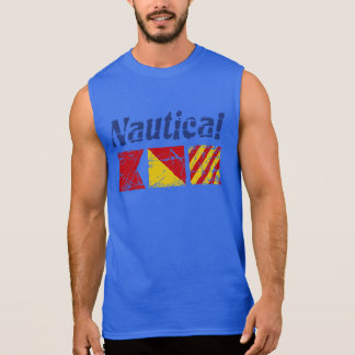 Nautical BOY Sleeveless Shirt