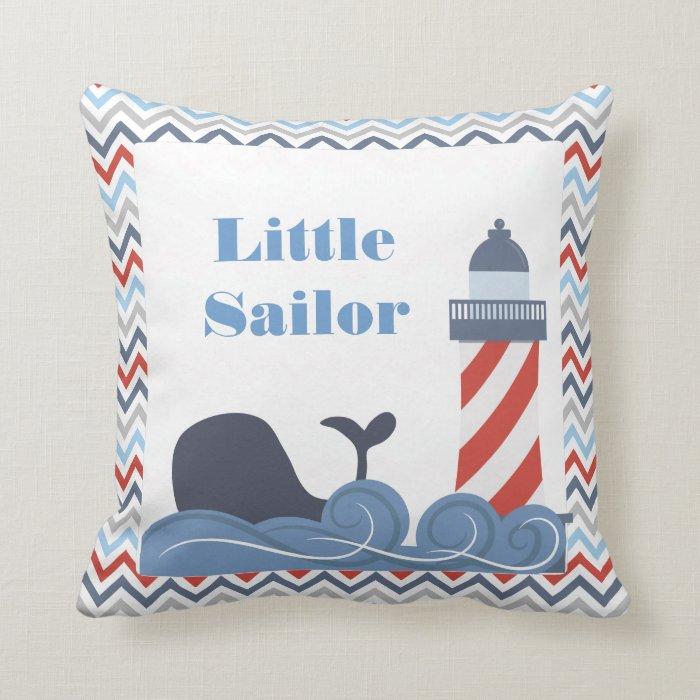 Nautical Boy s Throw Pillow by CBendel Designs Zazzle