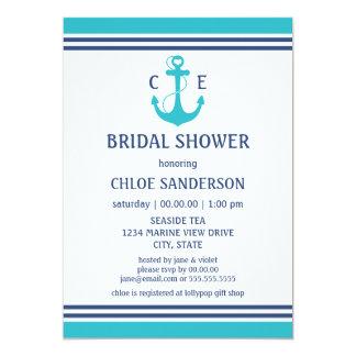 Nautical Bridal Shower Card