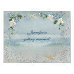 Nautical Bridal Shower 4.25x5.5 Paper Invitation Card