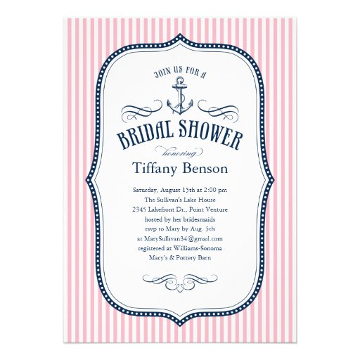 Make Bridal Shower Invitations with perfect invitations ideas