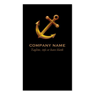Nautical Business Card Business Card Template