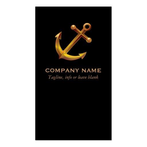 Nautical Business Card Business Card Template
