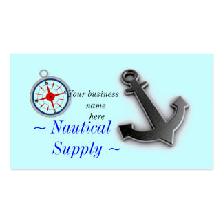 Nautical  Business card
