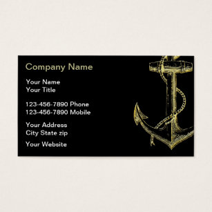 Marine business cards templates zazzle nautical business cards colourmoves