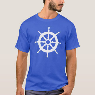 Nautical Captain Ship's Wheel Tee