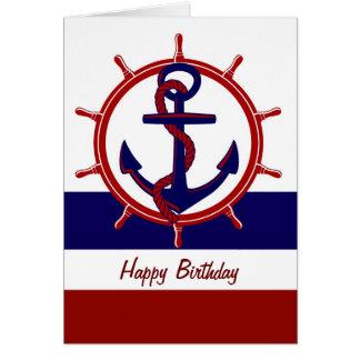 Nautical Birthday Greeting Cards Zazzle