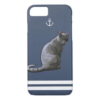 Nautical Cat iPhone case