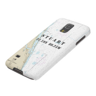 Nautical Chart Latitude Longitude: Stuart, Florida Galaxy S5 Cover