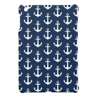 Nautical Chic Anchors iPad Mini Case