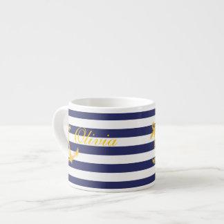 Nautical Chic Espresso Mug